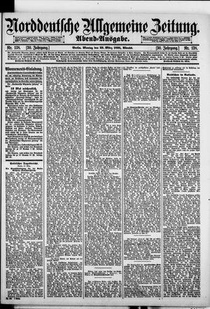 Norddeutsche allgemeine Zeitung vom 23.03.1891