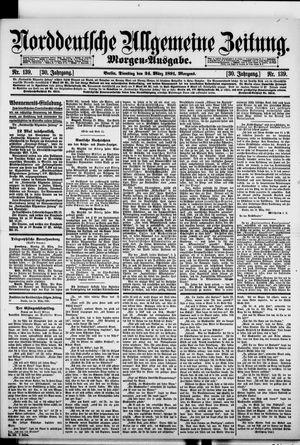 Norddeutsche allgemeine Zeitung vom 24.03.1891