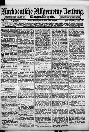 Norddeutsche allgemeine Zeitung vom 26.03.1891