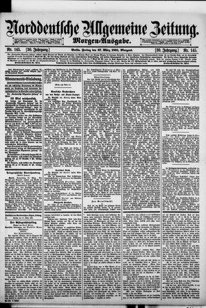 Norddeutsche allgemeine Zeitung vom 27.03.1891