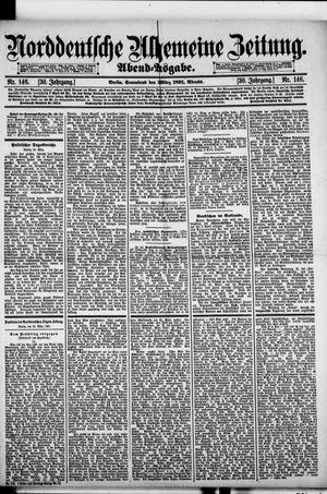 Norddeutsche allgemeine Zeitung vom 28.03.1891