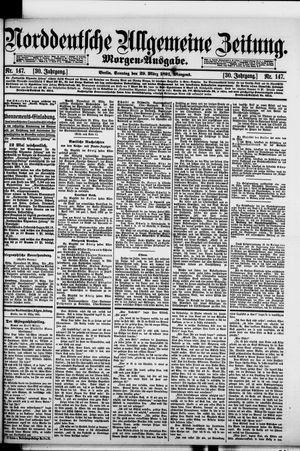 Norddeutsche allgemeine Zeitung vom 29.03.1891