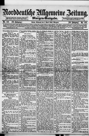 Norddeutsche allgemeine Zeitung vom 01.04.1891