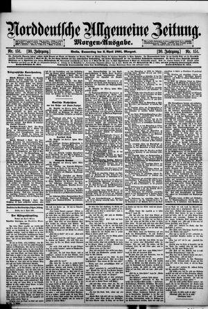 Norddeutsche allgemeine Zeitung vom 02.04.1891