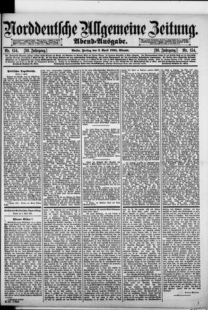 Norddeutsche allgemeine Zeitung vom 03.04.1891