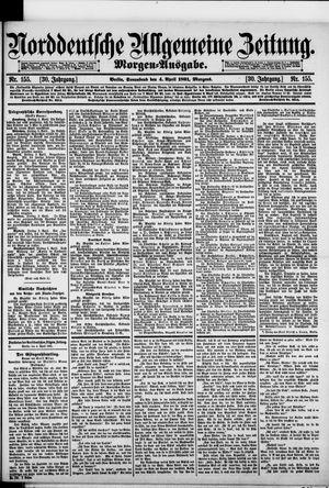 Norddeutsche allgemeine Zeitung on Apr 4, 1891