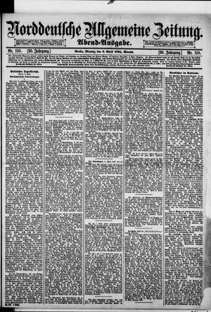 Norddeutsche allgemeine Zeitung on Apr 6, 1891