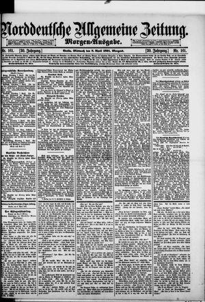 Norddeutsche allgemeine Zeitung vom 08.04.1891