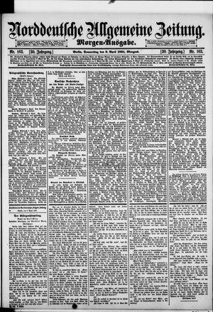 Norddeutsche allgemeine Zeitung vom 09.04.1891