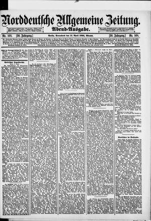 Norddeutsche allgemeine Zeitung vom 11.04.1891