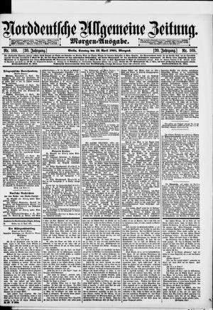 Norddeutsche allgemeine Zeitung vom 12.04.1891