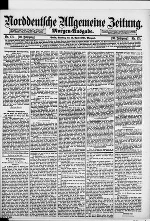 Norddeutsche allgemeine Zeitung vom 14.04.1891