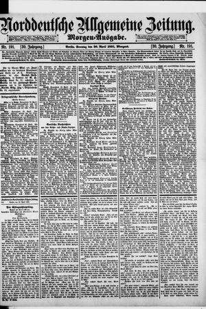Norddeutsche allgemeine Zeitung vom 26.04.1891