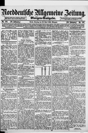 Norddeutsche allgemeine Zeitung vom 28.04.1891