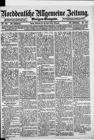 Norddeutsche allgemeine Zeitung vom 29.04.1891