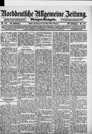 Norddeutsche allgemeine Zeitung vom 30.04.1891