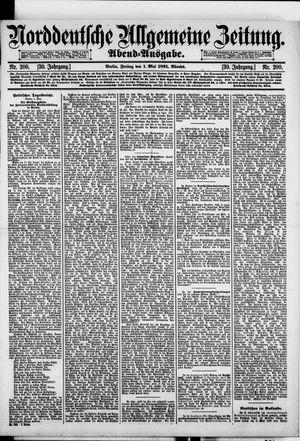 Norddeutsche allgemeine Zeitung vom 01.05.1891
