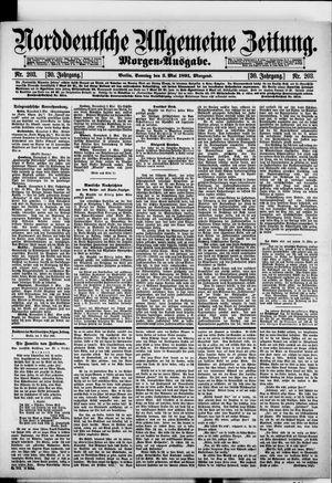 Norddeutsche allgemeine Zeitung vom 03.05.1891