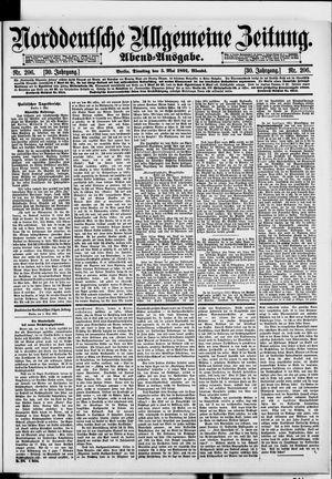 Norddeutsche allgemeine Zeitung on May 5, 1891