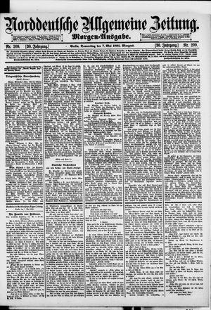 Norddeutsche allgemeine Zeitung vom 07.05.1891