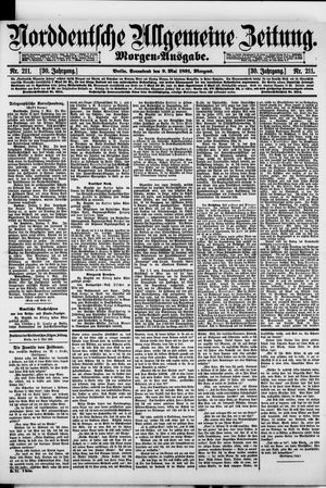 Norddeutsche allgemeine Zeitung vom 09.05.1891
