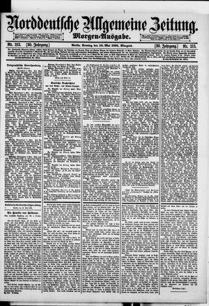 Norddeutsche allgemeine Zeitung vom 10.05.1891