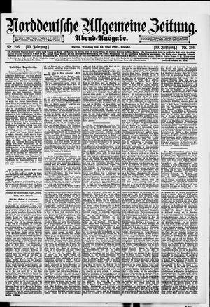 Norddeutsche allgemeine Zeitung vom 12.05.1891