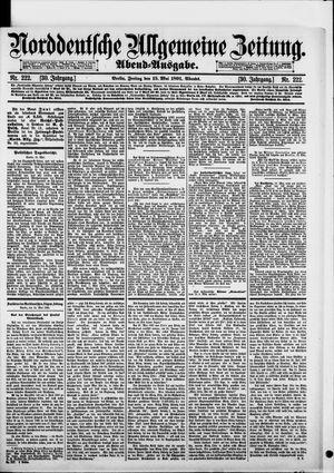 Norddeutsche allgemeine Zeitung vom 15.05.1891