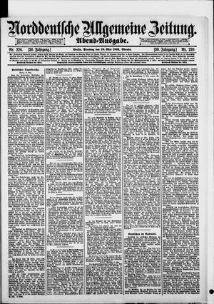 Norddeutsche allgemeine Zeitung vom 19.05.1891