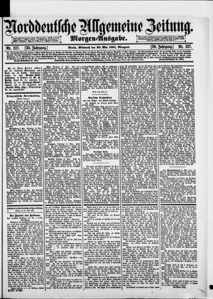Norddeutsche allgemeine Zeitung vom 20.05.1891