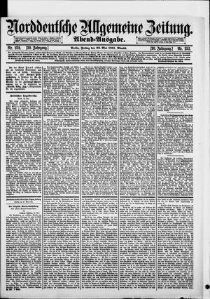Norddeutsche allgemeine Zeitung vom 22.05.1891