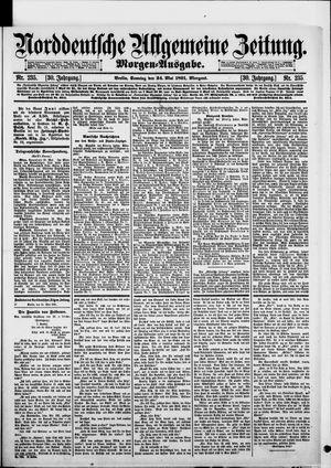 Norddeutsche allgemeine Zeitung vom 24.05.1891
