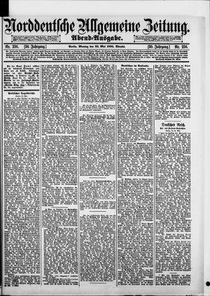 Norddeutsche allgemeine Zeitung vom 25.05.1891