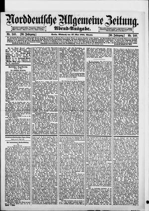 Norddeutsche allgemeine Zeitung on May 27, 1891