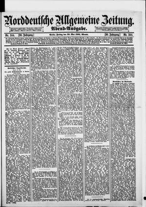 Norddeutsche allgemeine Zeitung vom 29.05.1891