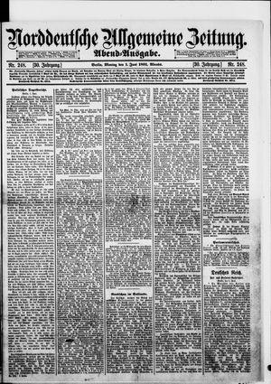 Norddeutsche allgemeine Zeitung vom 01.06.1891