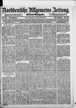 Norddeutsche allgemeine Zeitung on Jun 3, 1891