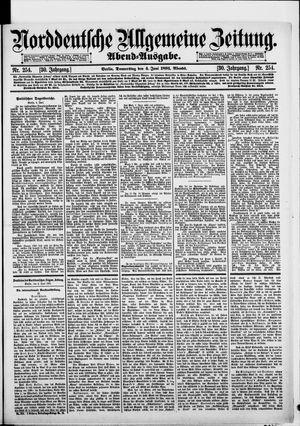 Norddeutsche allgemeine Zeitung on Jun 4, 1891