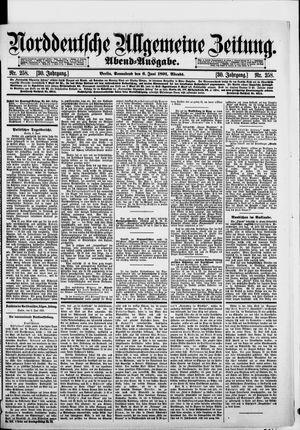 Norddeutsche allgemeine Zeitung vom 06.06.1891