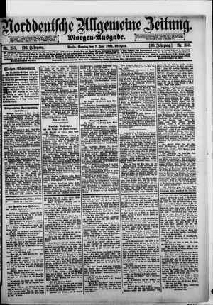 Norddeutsche allgemeine Zeitung vom 07.06.1891