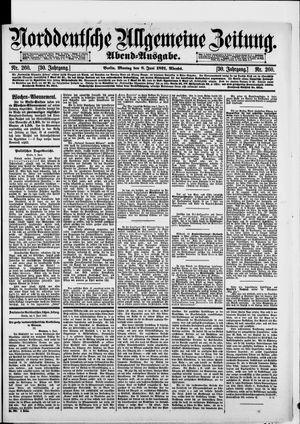 Norddeutsche allgemeine Zeitung vom 08.06.1891