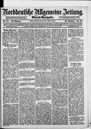 Norddeutsche allgemeine Zeitung vom 10.06.1891