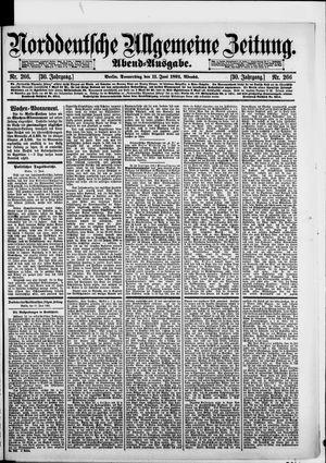 Norddeutsche allgemeine Zeitung vom 11.06.1891
