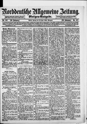 Norddeutsche allgemeine Zeitung vom 12.06.1891