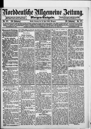 Norddeutsche allgemeine Zeitung vom 14.06.1891