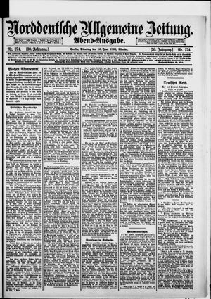 Norddeutsche allgemeine Zeitung vom 16.06.1891