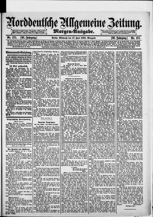 Norddeutsche allgemeine Zeitung on Jun 17, 1891