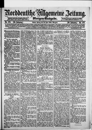 Norddeutsche allgemeine Zeitung on Jun 19, 1891