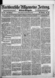 Norddeutsche allgemeine Zeitung (19.06.1891)