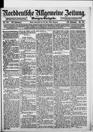 Norddeutsche allgemeine Zeitung vom 20.06.1891